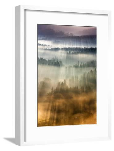 Mountain Hut-Marcin Sobas-Framed Art Print