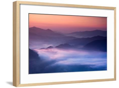 Sunrise-Marcin Sobas-Framed Art Print