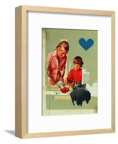 Teaching Rejection-Molly Bosley-Framed Art Print