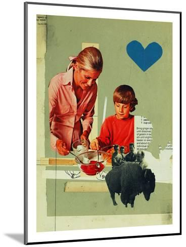 Teaching Rejection-Molly Bosley-Mounted Giclee Print