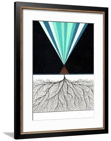 Above and Below-Mark Warren Jacques-Framed Art Print