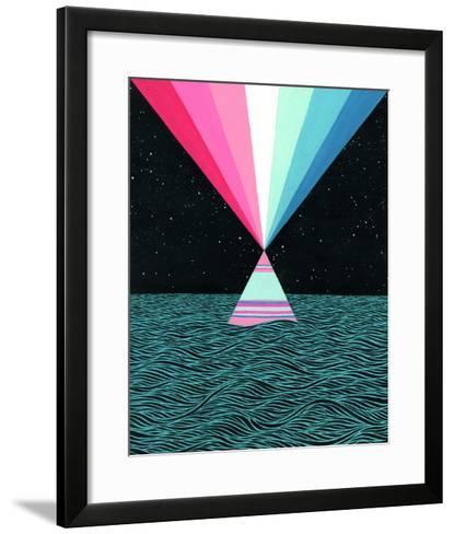 Ocean Blast-Mark Warren Jacques-Framed Art Print