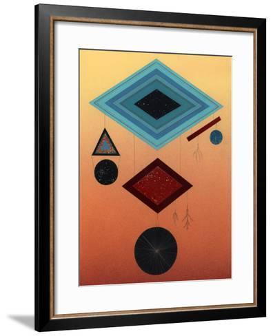 The Things That Dangle-Mark Warren Jacques-Framed Art Print