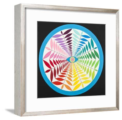 Natural Eye-Mark Warren Jacques-Framed Art Print