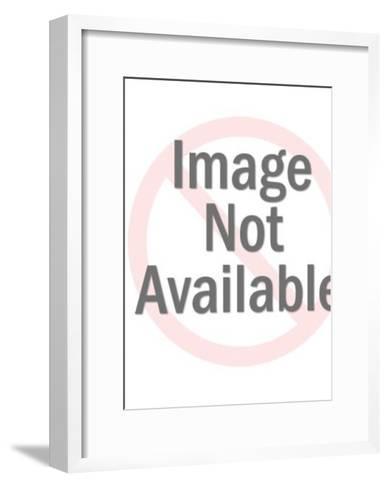 Blond Woman-Pop Ink - CSA Images-Framed Art Print