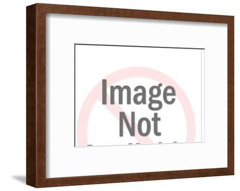 Motorcycle rider-Pop Ink - CSA Images-Framed Art Print