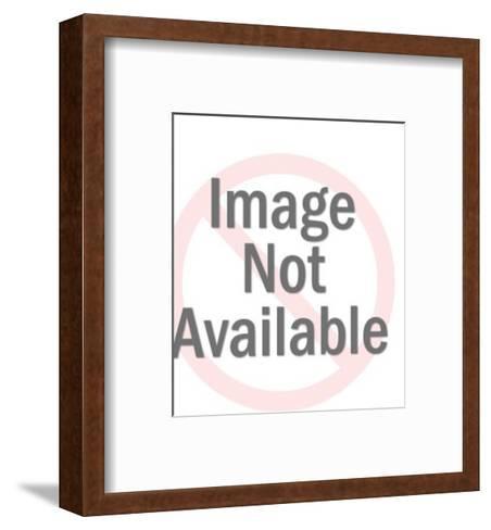 Broadcast Receiver-Pop Ink - CSA Images-Framed Art Print