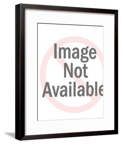 Happy Man Wearing Glasses-Pop Ink - CSA Images-Framed Art Print