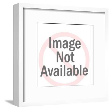 Paris satellite-Pop Ink - CSA Images-Framed Art Print
