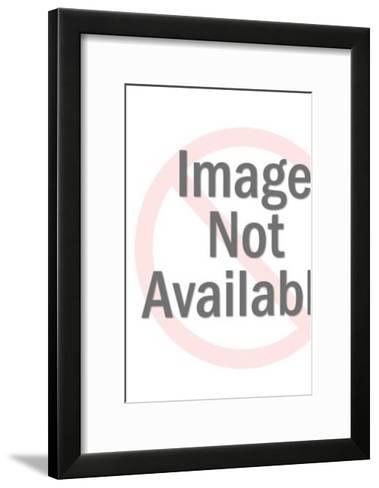 Monster battle-Pop Ink - CSA Images-Framed Art Print