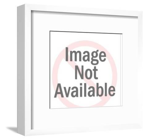 Five Businessmen in a Meeting-Pop Ink - CSA Images-Framed Art Print