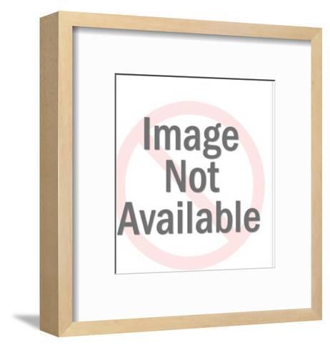 Woman on Phone-Pop Ink - CSA Images-Framed Art Print