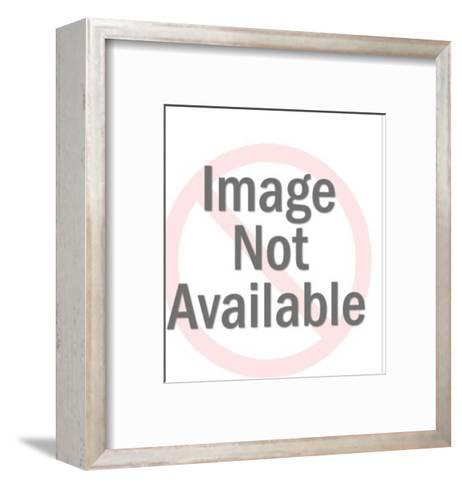 Lion tamer-Pop Ink - CSA Images-Framed Art Print