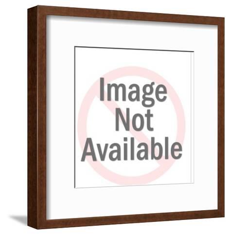 Hispanic Girl-Pop Ink - CSA Images-Framed Art Print