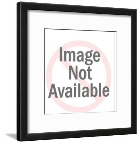 Hand Held Device-Pop Ink - CSA Images-Framed Art Print