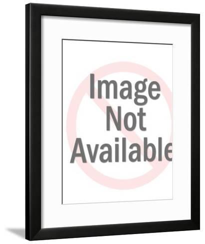 Surprised man with glasses-Pop Ink - CSA Images-Framed Art Print