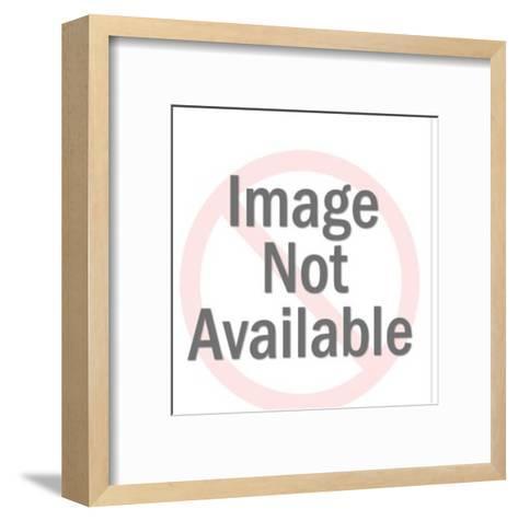 Businessman on the Phone-Pop Ink - CSA Images-Framed Art Print