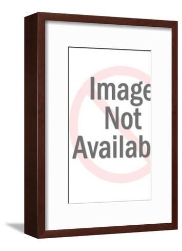 Tarzan and alligator-Pop Ink - CSA Images-Framed Art Print