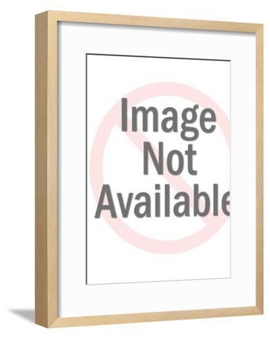 Tarzan fights a tiger-Pop Ink - CSA Images-Framed Art Print