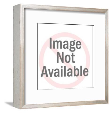 Handheld Phone-Pop Ink - CSA Images-Framed Art Print