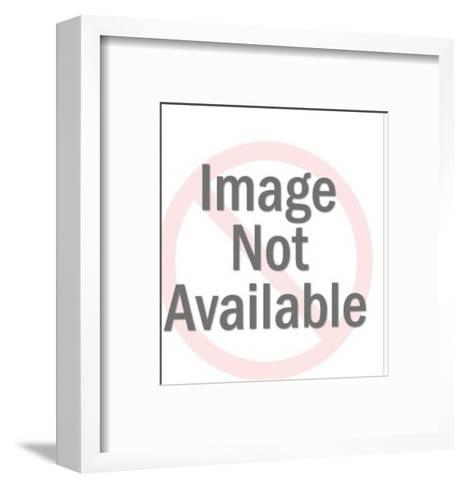 Man Speaking-Pop Ink - CSA Images-Framed Art Print
