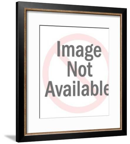 Two Women and Man Holding His Head-Pop Ink - CSA Images-Framed Art Print