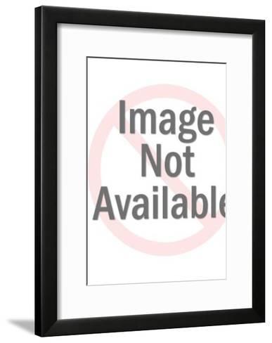 Skeletal Female Corpse Scares Priest and Altar Boys-Pop Ink - CSA Images-Framed Art Print