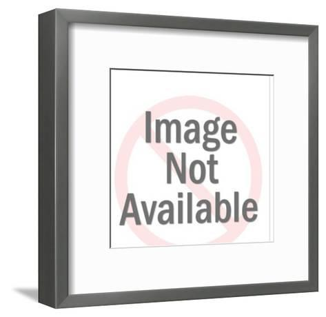 Man and Woman Talking-Pop Ink - CSA Images-Framed Art Print