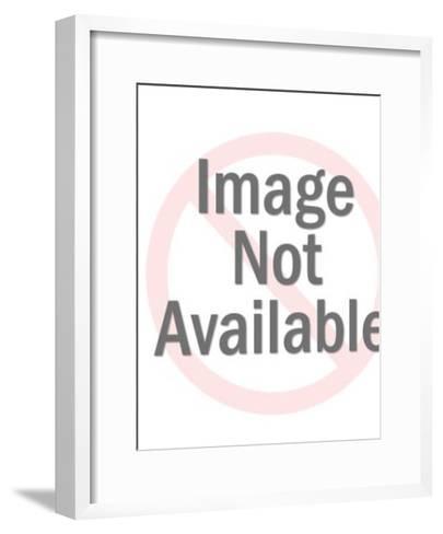 Businessman Jumping for Joy-Pop Ink - CSA Images-Framed Art Print