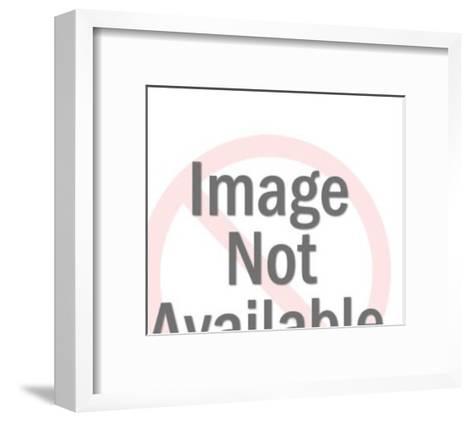 Man Threatening a Woman-Pop Ink - CSA Images-Framed Art Print