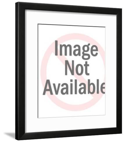 Man Stealing a Bag of Money-Pop Ink - CSA Images-Framed Art Print