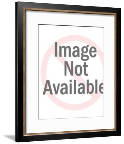 Man in Torn Clothing-Pop Ink - CSA Images-Framed Art Print