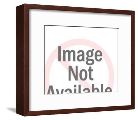 Man Reading Newspaper-Pop Ink - CSA Images-Framed Art Print