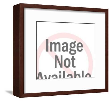Man Holding Newspaper-Pop Ink - CSA Images-Framed Art Print