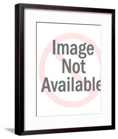 Christmas trees-Pop Ink - CSA Images-Framed Art Print