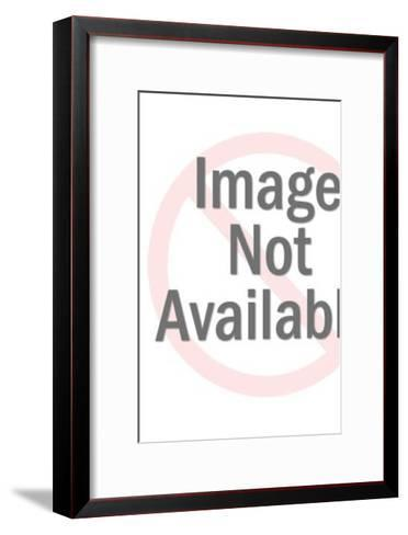 Groom releasing doves-Pop Ink - CSA Images-Framed Art Print