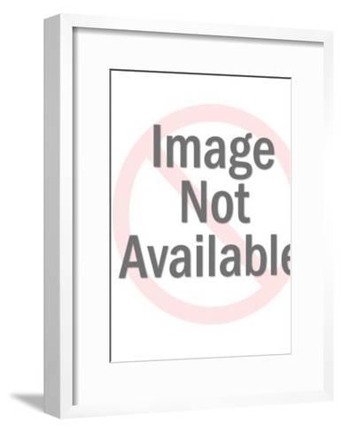 Vegas man with tire-Pop Ink - CSA Images-Framed Art Print