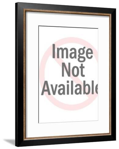 Abstract woman-Pop Ink - CSA Images-Framed Art Print