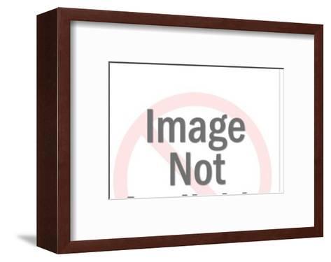 Four leaf clover-Pop Ink - CSA Images-Framed Art Print