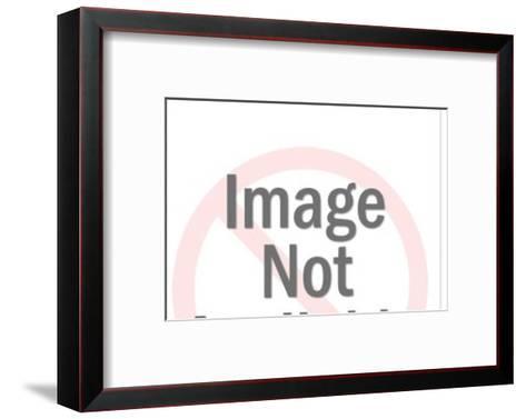 Motorcycle-Pop Ink - CSA Images-Framed Art Print