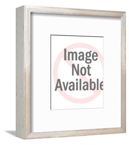 Boy with inner tube-Pop Ink - CSA Images-Framed Art Print