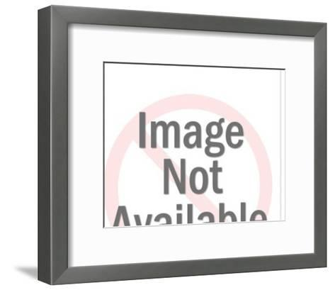 Couple in formal wear kissing-Pop Ink - CSA Images-Framed Art Print