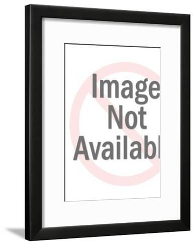 Couple at the beach-Pop Ink - CSA Images-Framed Art Print