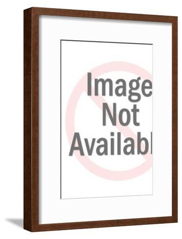 Three fingers-Pop Ink - CSA Images-Framed Art Print
