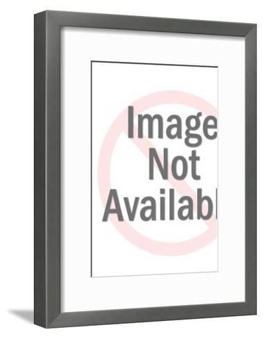 Two men in overcoats-Pop Ink - CSA Images-Framed Art Print