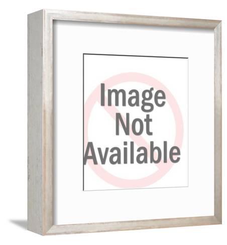 Globe in eye-Pop Ink - CSA Images-Framed Art Print