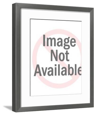 Hawaiian woman-Pop Ink - CSA Images-Framed Art Print