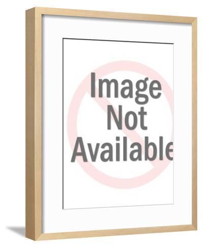 Two kids-Pop Ink - CSA Images-Framed Art Print