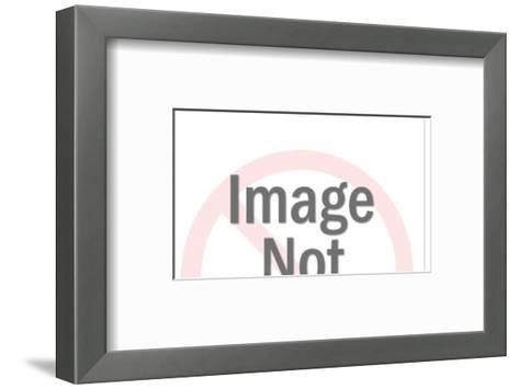 Tractor-Pop Ink - CSA Images-Framed Art Print