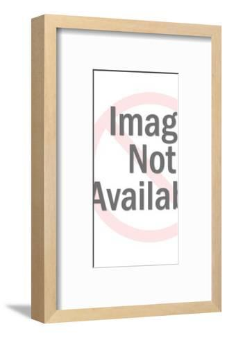 Big-eyed girl-Pop Ink - CSA Images-Framed Art Print